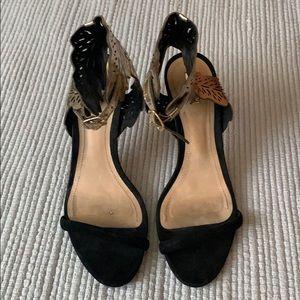 Schutz black sandal